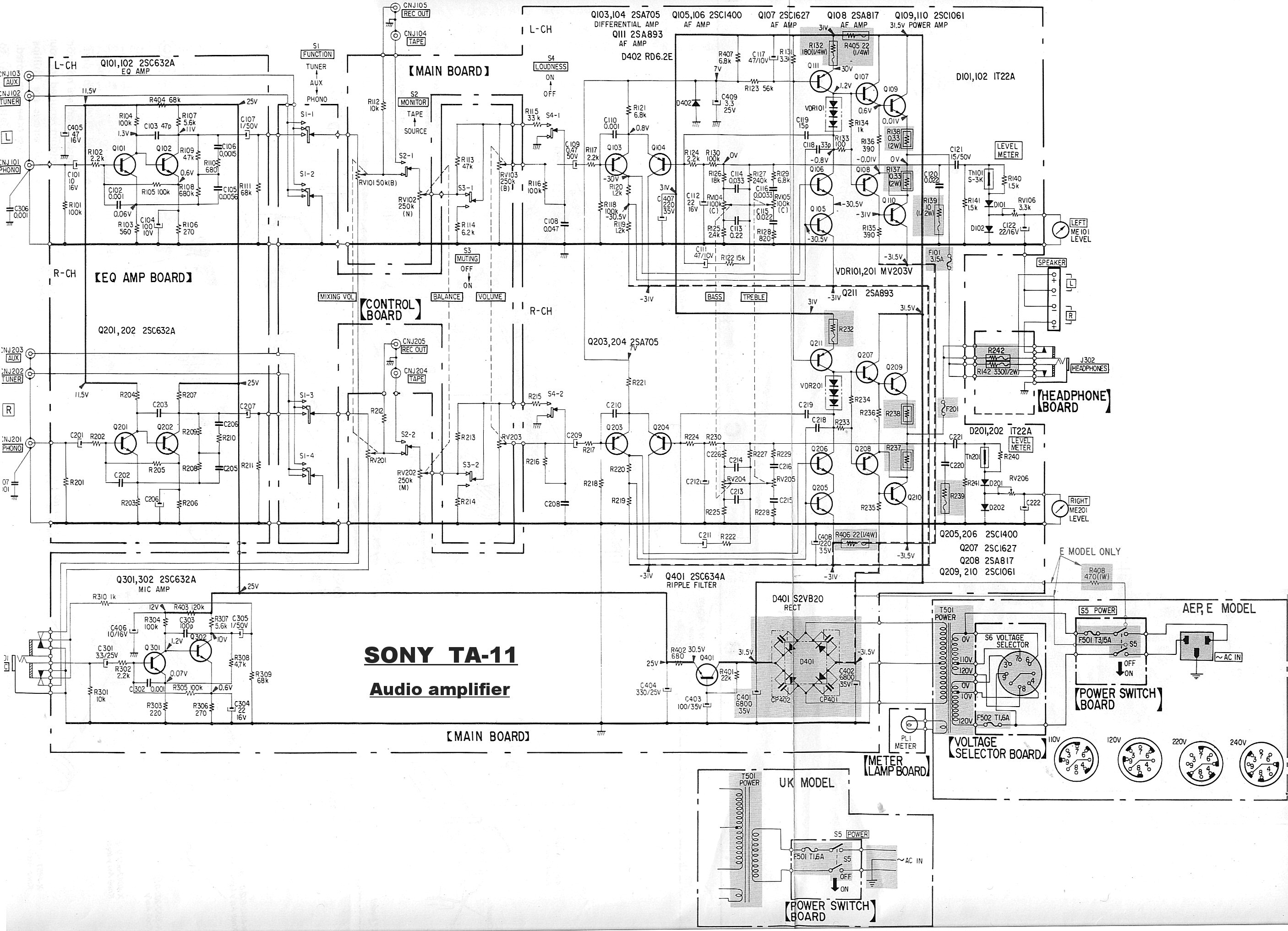 Service manual : SONY TA-11 SONY TA-11_01.jpg, Audio