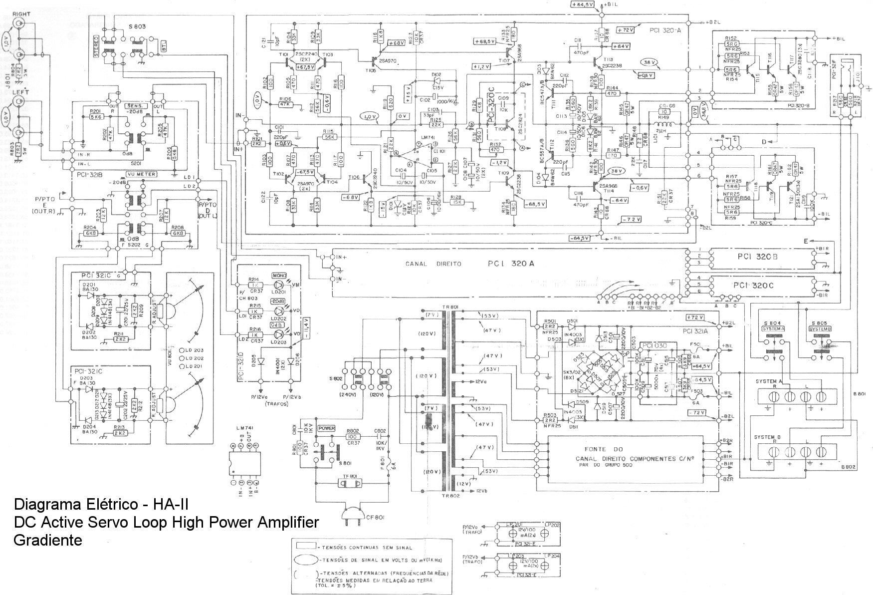 Service manual : Gradiente HA-II ha2.jpg, DC Active Servo